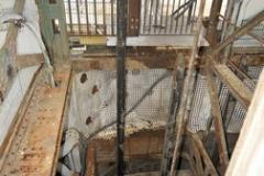 Der 850 Meter tiefe Schacht Fürst Leopold 2 wird 2017 verfüllt