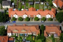 DORSTEN     Zechensiedlung in Hervest  ganz im Osten Luftbild: Hans Blossey    Flugdatum: 03.07.2001 Luftbild Hans Blossey
