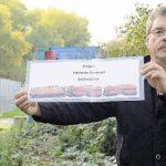 Schweres Exponat für die Zechenbahntrasse