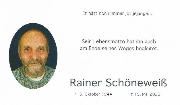 Ein letztes Glückauf für Rainer Schöneweiß