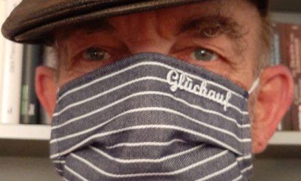 Corona-Masken im Bergbau-Look