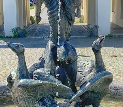 Die Bergmanns-Tiere spucken wieder ins Becken